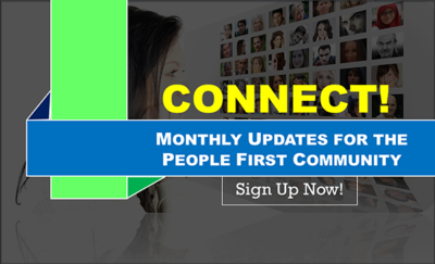 Sign up connect community