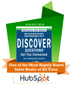 DISCOVER Questions book, One of Hubspot's Most Highly-Rated Sales Books of All Time